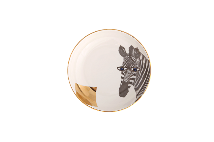 Porland Wild Life Zebra Kase 17cm